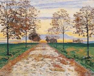 Autumn Evening — Фердинанд Ходлер