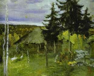 Autumn in a Village — Михаил Нестеров