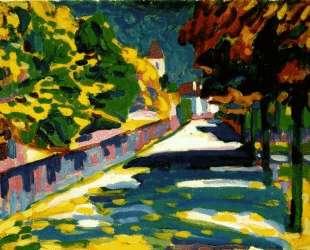 Осень в Баварии — Василий Кандинский