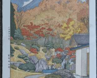 Autumn in Hakone Museum — Тоси Ёсида