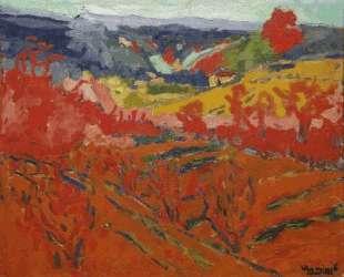 Autumn Landscape — Морис де Вламинк