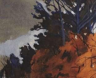 Осенний пейзаж — Зинаида Серебрякова