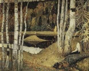Осенний пейзаж — Михаил Нестеров