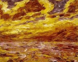 Autumn Sea VII — Эмиль Нольде