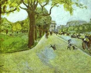Avenue du Bois in Boulogne — Пьер Боннар