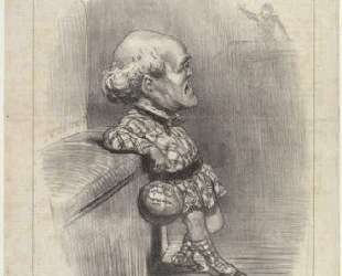 Б. Сарран младший — Оноре Домье
