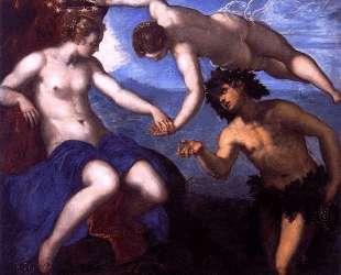 Bacchus and Ariadne — Тинторетто