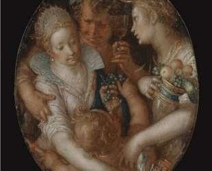 Bacchus between Ceres and Venus — Йоахим Эйтевал