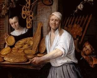 Baker Oostwaert and his wife — Ян Стен