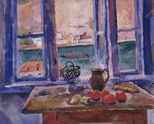 Балаклава. Окно на море. — Пётр Кончаловский