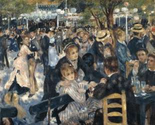 Dance at Moulin de la Galette — Пьер Огюст Ренуар