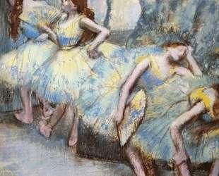Балерины за кулисами — Эдгар Дега