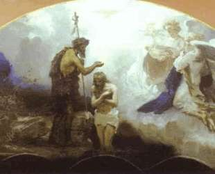 Baptism of Chris — Генрих Семирадский