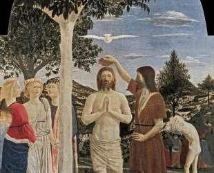 Крещение Христа — Пьеро делла Франческа