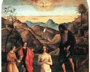Крещение Христа, Алтарь Св. Иоанна — Джованни Беллини