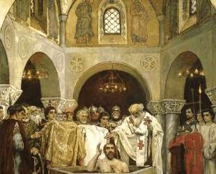 Baptism of Prince Vladimir — Виктор Васнецов