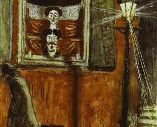 Barbershop Window — Мстислав Добужинский