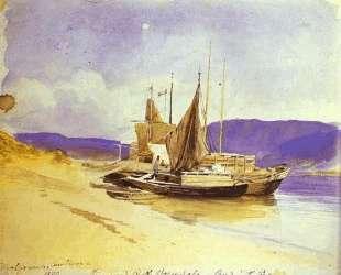 Barges near the Bank — Фёдор Васильев