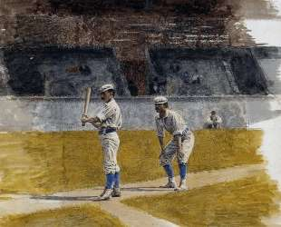Baseball Players Practicing — Томас Икинс
