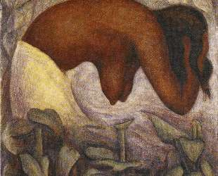 Bather of Tehuantepec — Диего Ривера