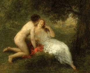 Bathers (also known as The Secret) — Анри Фантен-Латур