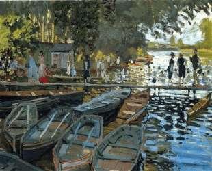 Купальщицы в Ла Гренуйере — Клод Моне