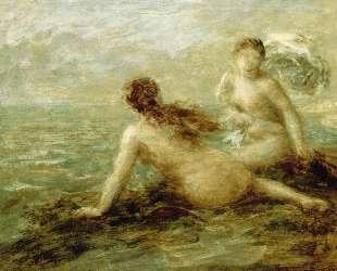 Bathers by the Sea — Анри Фантен-Латур