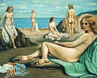 Купальщицы на пляже — Джорджо де Кирико