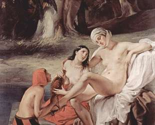 Bathing Bathsheba — Франческо Хайес