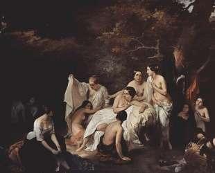 Bathing nymphs — Франческо Хайес