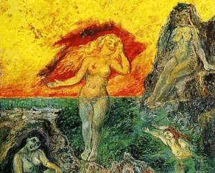 Купальщицы (Дочери Зевса) — Давид Бурлюк