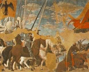 Битва между Константином и Максенцием — Пьеро делла Франческа