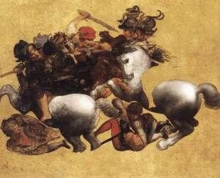 Battle of Anghiari — Леонардо да Винчи