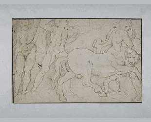 Battle of Centaurs and Greek — Бартоломе Эстебан Мурильо