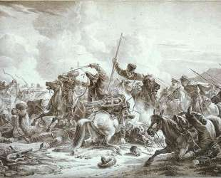 Battle of Cossaks with Kirgizes — Александр Орловский