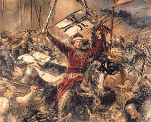 Battle of Grunwald, Witold (detail) — Ян Матейко