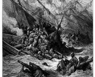 Битва при Лепанто в 1571 году — Гюстав Доре