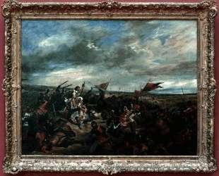 Битва при Пуатье — Эжен Делакруа