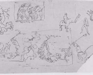 Battle scenes — Фердинанд Ходлер