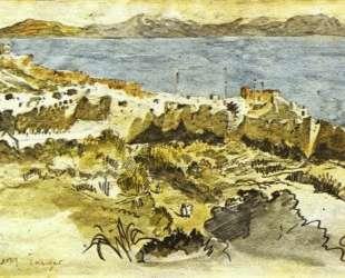 Залив Танжер в Марокко — Эжен Делакруа