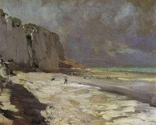 Морской берег в Дьеппе — Константин Коровин