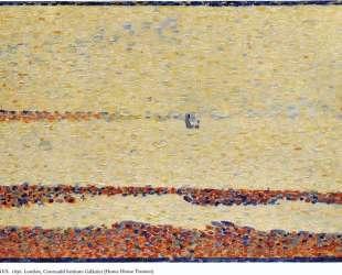 Пляж в Гравлин — Жорж Сёра