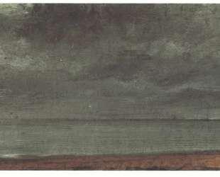 Морской берег в Брайтоне — Джон Констебл
