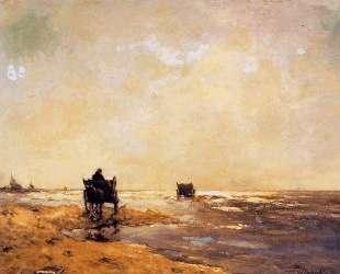 Beach view — Иохан Хендрик Вейсенбрух