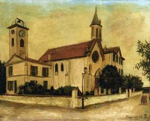 Beaulieu Church — Морис Утрилло