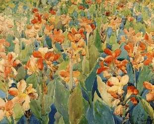 Bed of Flowers (also known as Cannas or The Garden) — Морис Прендергаст