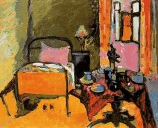 Спальня на Антмиллерштрассе — Василий Кандинский