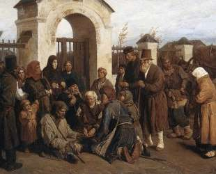 Beggars singer (Pilgrims) — Виктор Васнецов