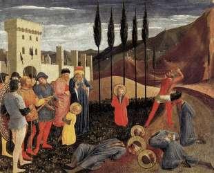 Усекновение главы святых Космы и Дамиана — Фра Анджелико
