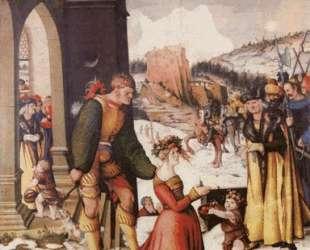 Отсечение головы Святой Дорофеи — Ханс Бальдунг